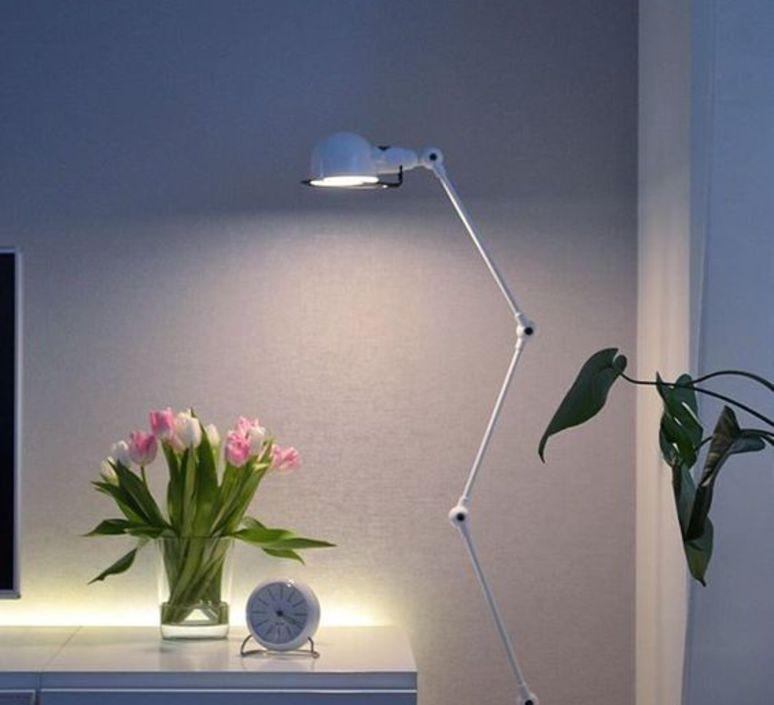 Signal 4 bras jean louis domecq lampadaire floor light  jielde si433 blc  design signed 35703 product