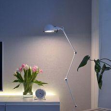 Signal 4 bras jean louis domecq lampadaire floor light  jielde si433 blc  design signed 35703 thumb