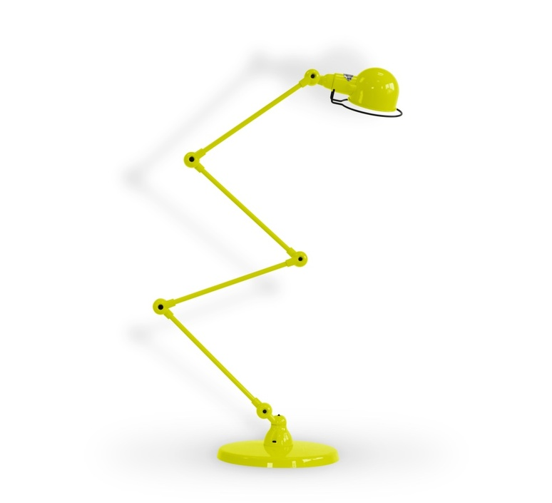 Signal 4 bras jean louis domecq lampadaire floor light  jielde si433 ral1016  design signed 111263 product