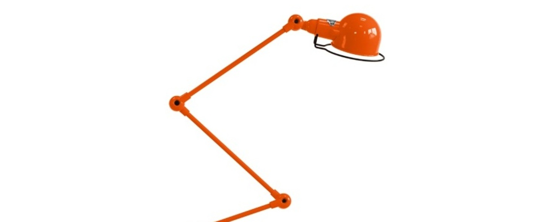 Lampadaire signal 4 bras si433 orange o24 5cm h120cm jielde normal