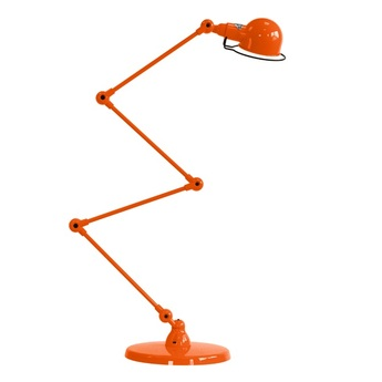 Lampadaire signal 4 bras si433 orange o24 5cm h120cm jielde normal