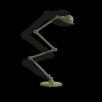 Lampadaire signal si433 vert o24cm h120cm jielde normal