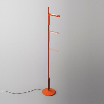 Lampadaire siptel led orange h135cm fontana arte normal