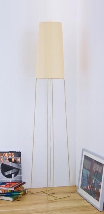 Lampadaire slimsophie beige h176cm fraumaier normal