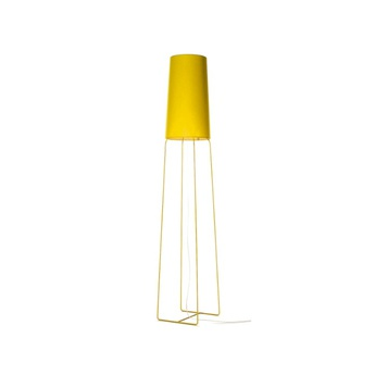 Lampadaire slimsophie jaune h176cm fraumaier normal
