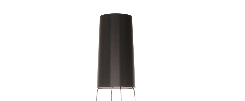 Lampadaire slimsophie noir h176cm fraumaier normal