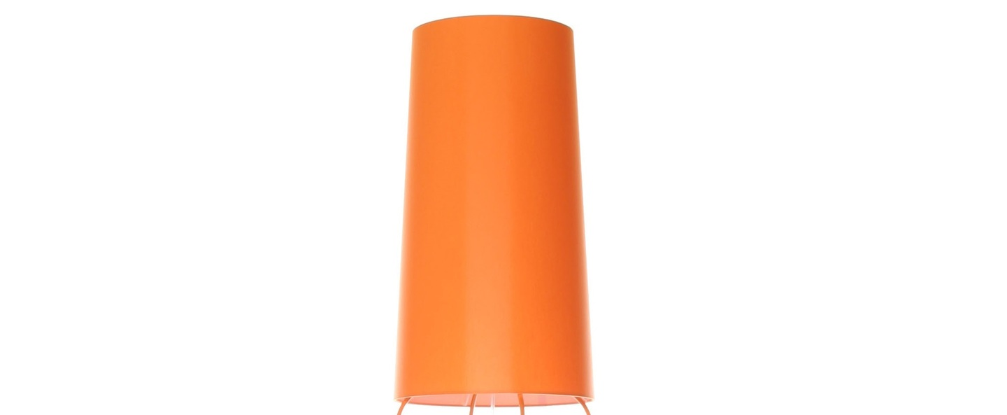 Lampadaire slimsophie orange h176cm fraumaier normal