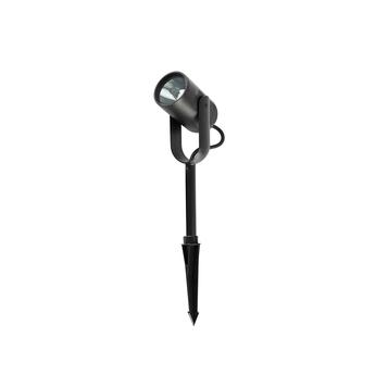 Lampadaire slot 35 noir 0led 3000k 830lml14cm h38cm faro normal