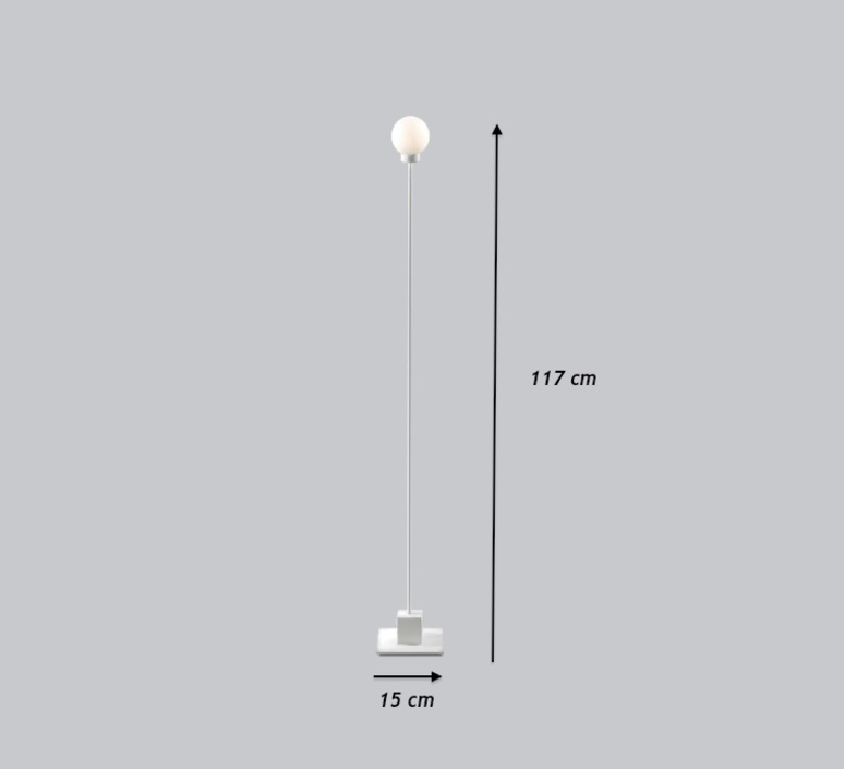 Snowball trond svendgard lampadaire floor light  northern lighting 123  design signed 30800 product