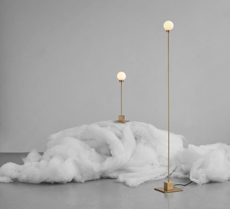 Snowball trond svendgard lampadaire floor light  northern 140  design signed nedgis 117965 product