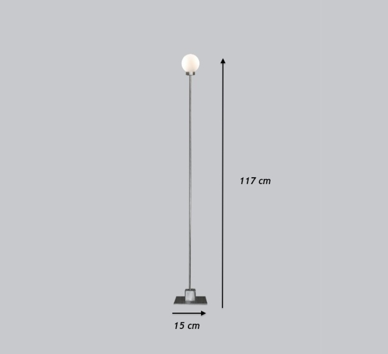 Snowball trond svendgard lampadaire floor light  northern lighting 122  design signed 30805 product