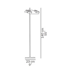 Spider joe colombo oluce 3319 blanc luminaire lighting design signed 22523 thumb