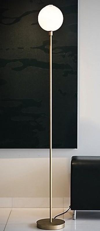 Lampadaire stem 168 laiton l23cm h168cm sklo studio normal