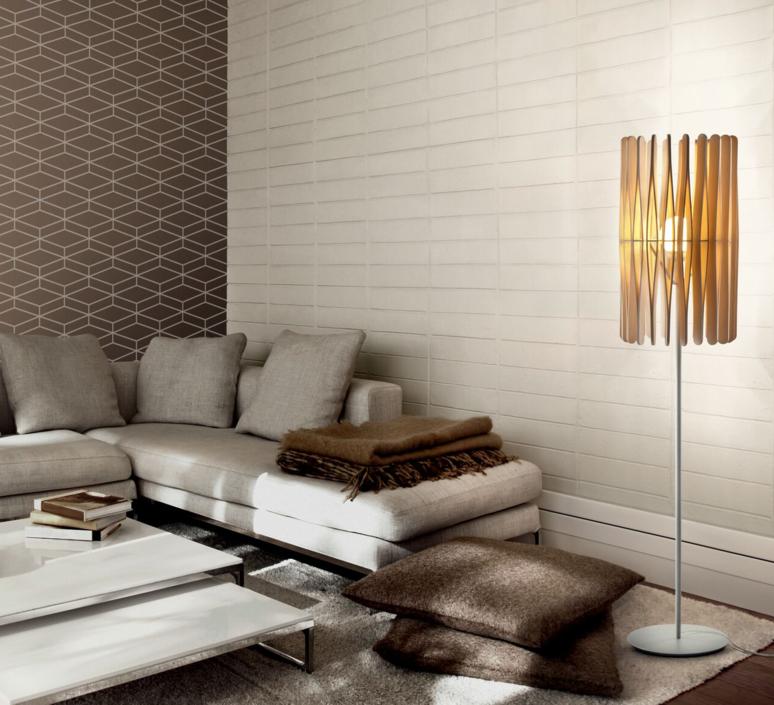 Stick f23 cylinder matali crasset lampadaire floor light  fabbian f23c01 69  design signed 39893 product