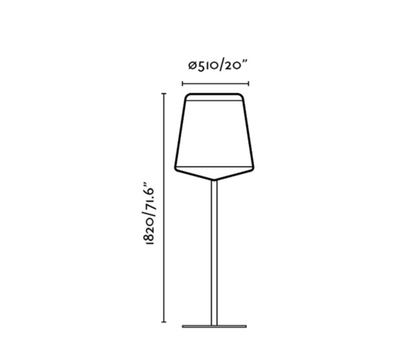 Stood lucid lampadaire floor light  faro 29847  design signed 40221 product