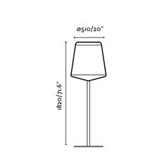 Stood lucid lampadaire floor light  faro 29847  design signed 40221 thumb