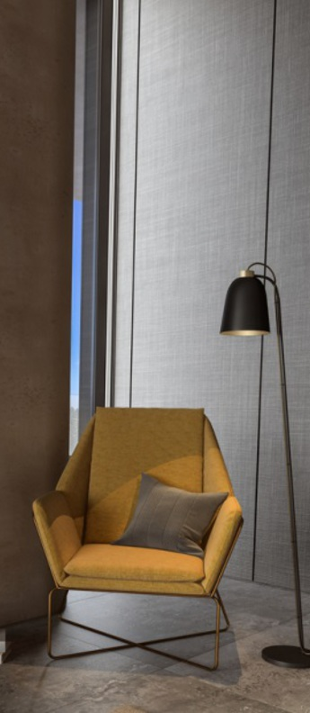 Lampadaire summera noir gris o17 5cm h140cm shapes normal