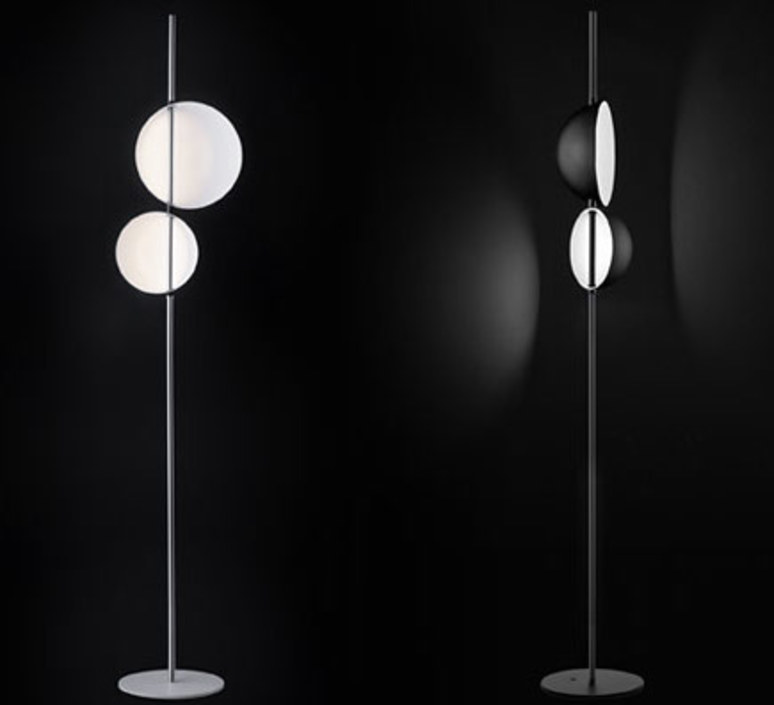 Superluna 397 victor vasilev lampadaire floor light  oluce superluna397  design signed 40582 product