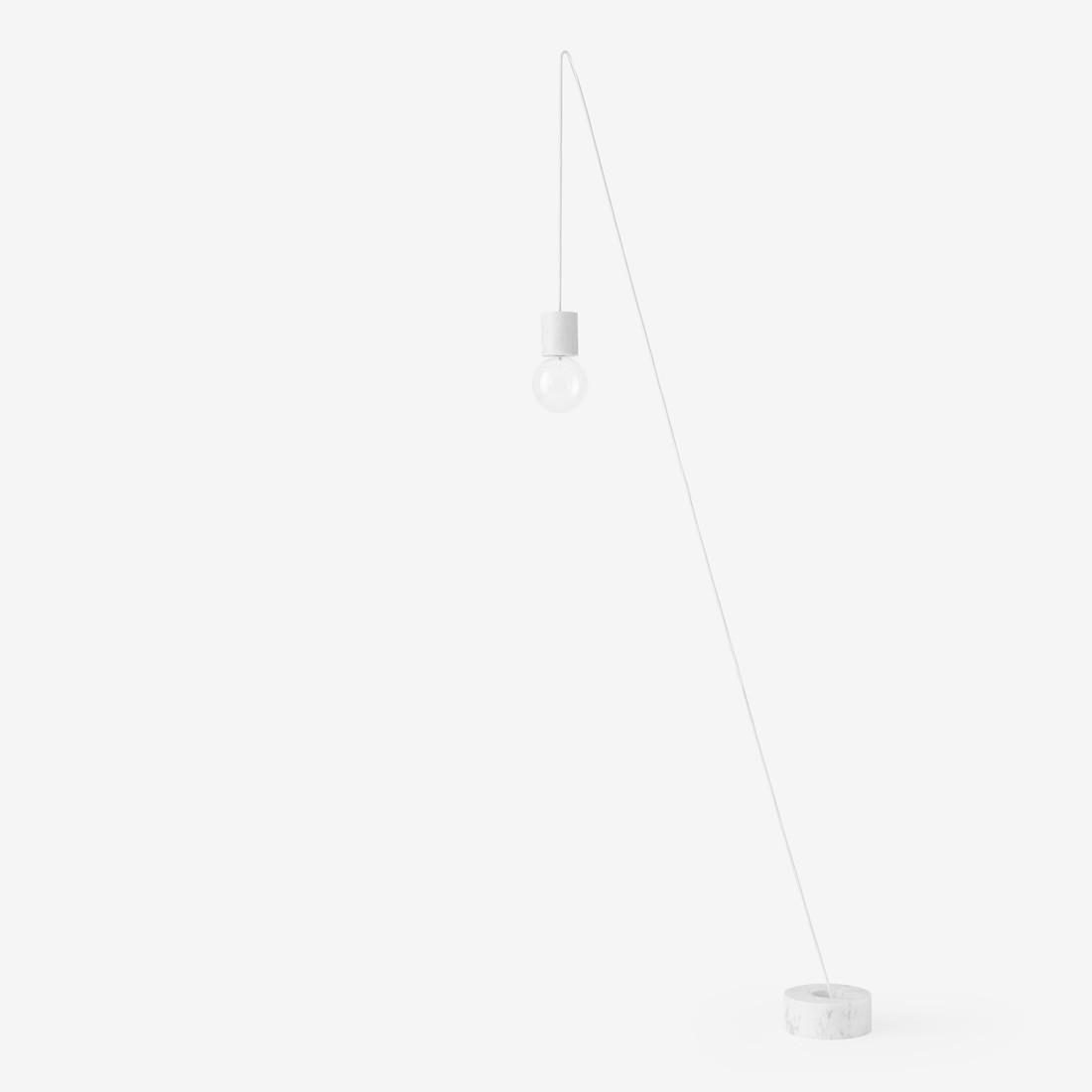 Lampadaire Suspendu Sv7 Blanc O13cm H23cm Andtradition