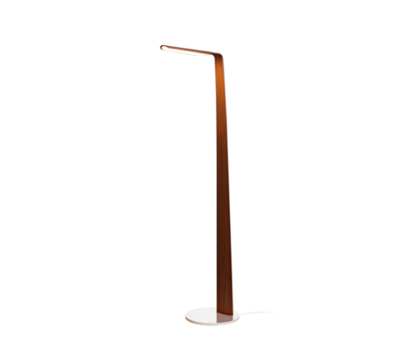 Swan mikko karkkainen lampadaire floor light  tunto swan noyer  design signed 46240 product