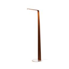 Swan mikko karkkainen lampadaire floor light  tunto swan noyer  design signed 46240 thumb
