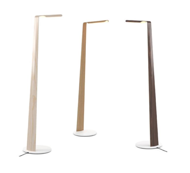Swan mikko karkkainen lampadaire floor light  tunto swan noyer  design signed 46241 product