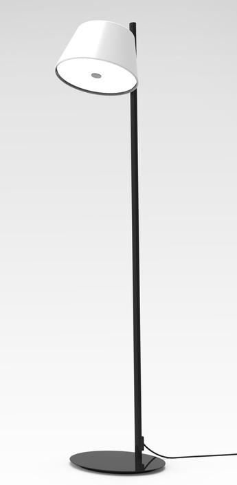 Lampadaire tam tam p blanc h116cm marset normal
