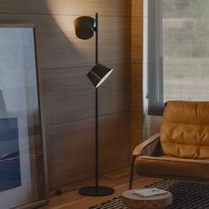 Tam tam p2 fabien dumas lampadaire floor light  marset a633 215 2x a622 011 47  design signed nedgis 122983 thumb