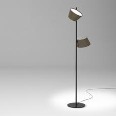 Tam tam p2 fabien dumas lampadaire floor light  marset a633 215 2x a622 011 47  design signed nedgis 122984 thumb