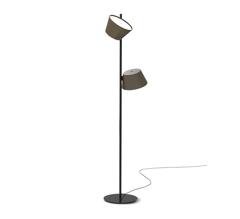 Tam tam p2 fabien dumas lampadaire floor light  marset a633 215 2x a622 011 47  design signed nedgis 122985 product