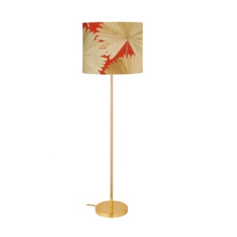 Lampadaire tango orange o42cm h164cm ebb and flow normal
