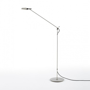 Lampadaire tema nickel led 2700k 540lm o19cm h140cm carpyen normal