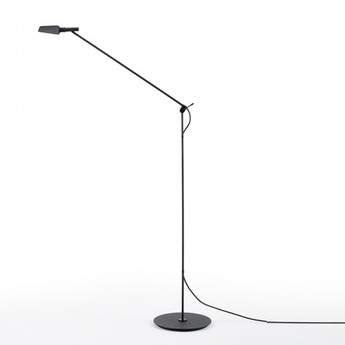 Lampadaire tema noir led 2700k 540lm o19cm h140cm carpyen normal