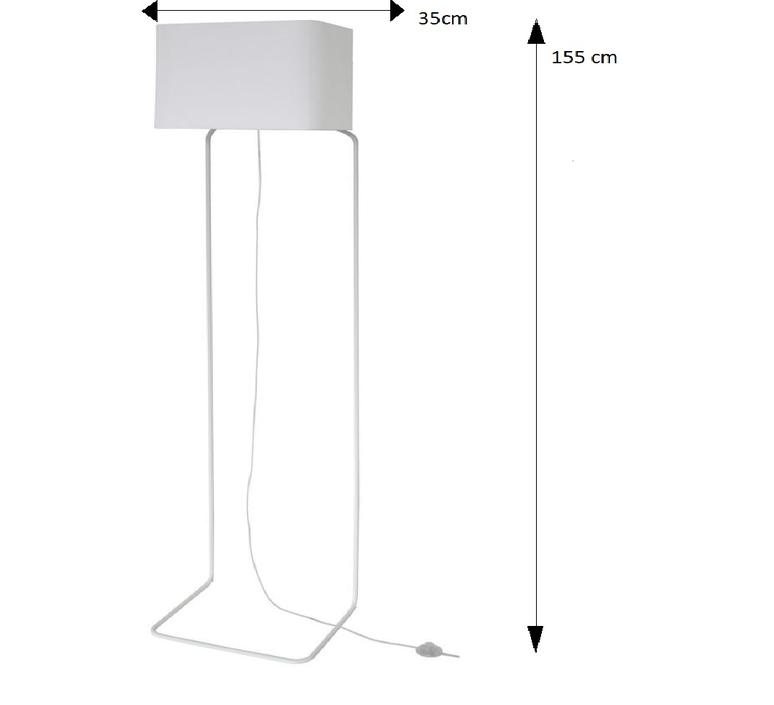 Lampadaire thinlissie blanc h155cm fraumaier 36435 product