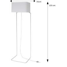 Lampadaire thinlissie blanc h155cm fraumaier 36435 thumb
