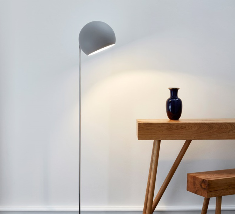 Tilt globe jjoo lampadaire floor light  nyta tilt floor globe grey  design signed 46357 product