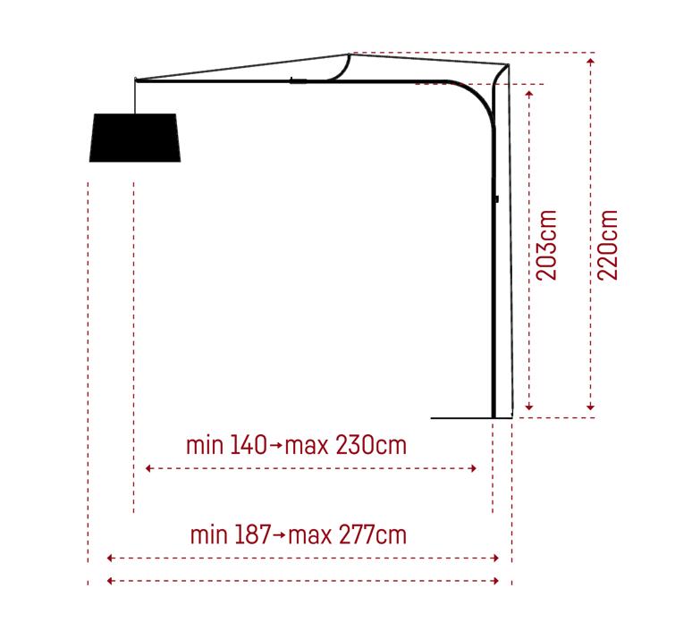 Tina felix severin mack fraumaier tina noir luminaire lighting design signed 30231 product