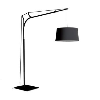 Lampadaire tina noir h220cm fraumaier normal