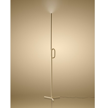 Lampadaire tobia or touch dimmer led 2700k 2000lm o17cm h175cm foscarini normal