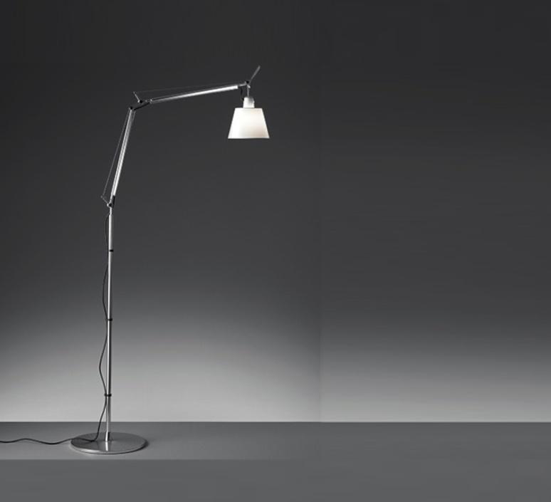 Tolomeo basculante terra michele de lucchi lampadaire floor light  artemide 0947010a a012820 a014000  design signed 33778 product