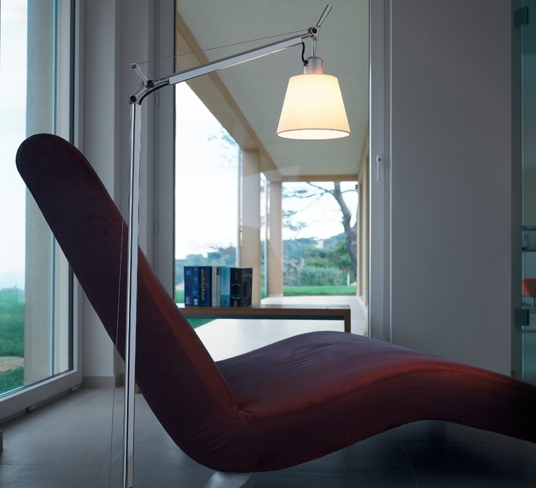 Tolomeo lettura basculante michele de lucchi lampadaire floor light  artemide a014600 a014900  design signed 33783 product