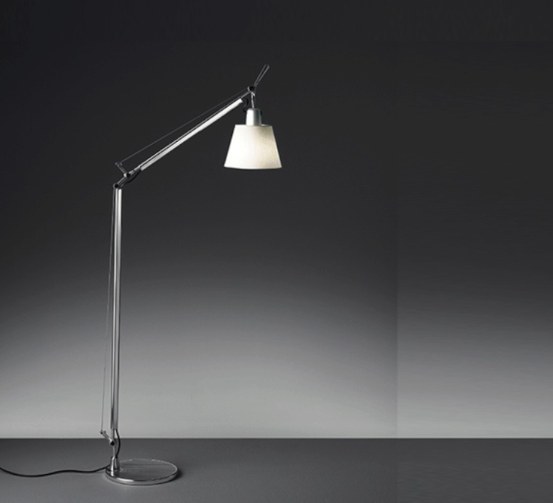Tolomeo lettura basculante michele de lucchi lampadaire floor light  artemide a014600 a014900  design signed 33784 product