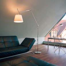 Tolomeo mega terra michele de lucchi lampadaire floor light  artemide 0778010a 0779010a 0780030a  design signed 51162 thumb