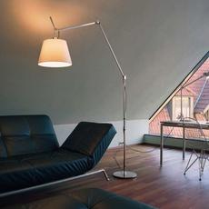 Tolomeo mega terra michele de lucchi lampadaire floor light  artemide 0762010a 0763010a 0780010a  design signed 33798 thumb