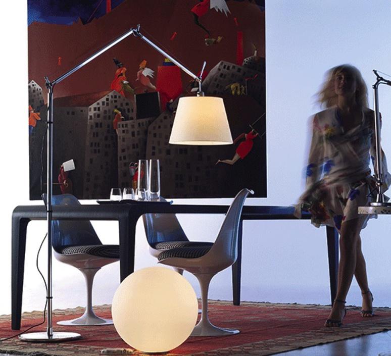 Tolomeo mega terra michele de lucchi lampadaire floor light  artemide 0762010a 0763010a 0780010a  design signed 33799 product