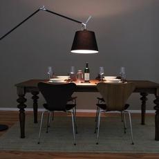 Tolomeo mega terra michele de lucchi lampadaire floor light  artemide 0763030a 0772030a 0761030a  design signed 34241 thumb
