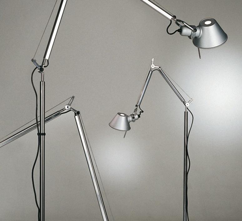 Tolomeo micro terra michele de lucchi lampadaire floor light  artemide a010300 a014000 a043900  design signed 33794 product