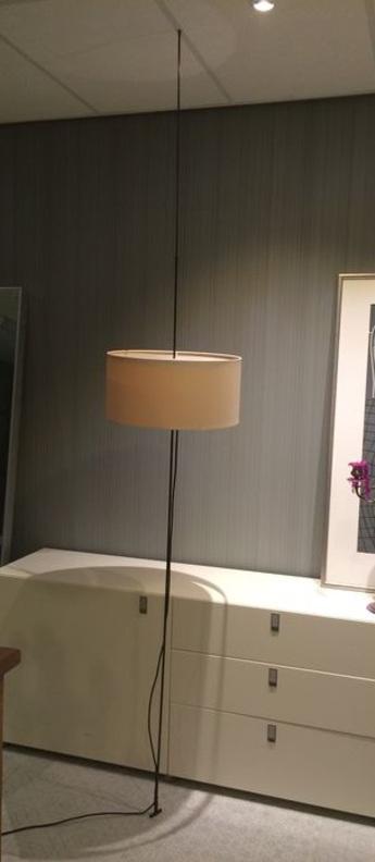 Lampadaire totora beige o45cm h240cm carpyen normal