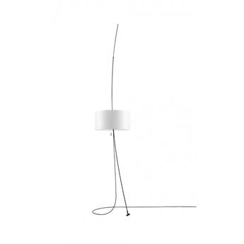 Lampadaire totora blanc o45cm h240cm carpyen normal
