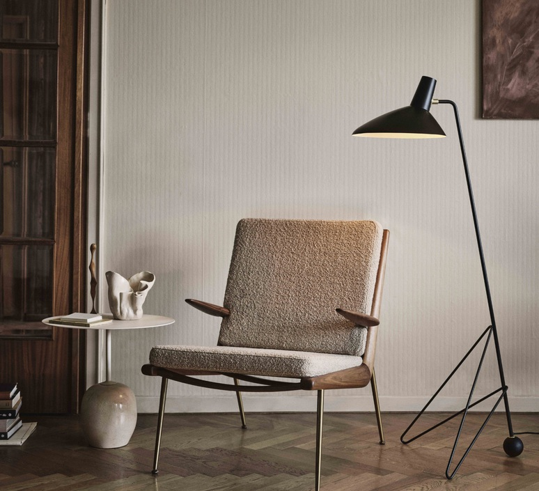 Tripod hm8 hvidt molgaard lampadaire floor light  andtradition 14080094  design signed nedgis 82439 product